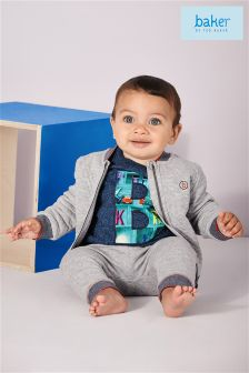 Baker By Ted Baker Baby Boys Grey Bomber