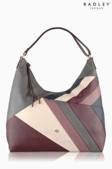 Radley Grey Patchwork Oxleas Hobo Bag