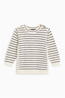 Stripe Crew Jumper (3mths-6yrs)