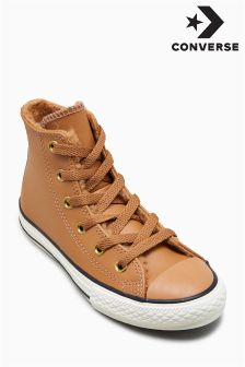 Converse Brown Lined Hi Top
