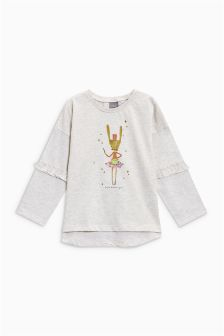 Drummer Girl T-Shirt (3mths-6yrs)