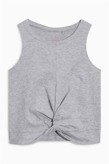 Twist Hem Vest Top (3-16yrs)