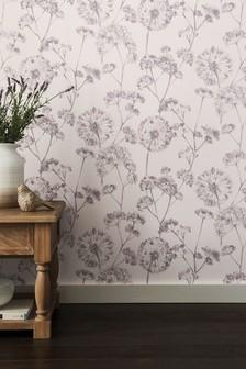 Paste The Wall Allium Wallpaper