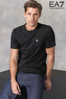 Emporio Armani EA7 Black Shield T-Shirt