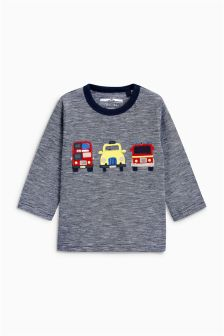 Long Sleeve London T-Shirt (3mths-6yrs)