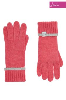 Joules Soft Coral Huddle Glove