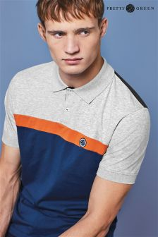Pretty Green Colourblock Polo