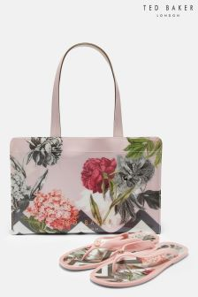 Ted Baker Palace Gardens Flip Flop Bag Icon Set