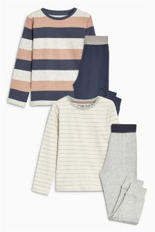 Stripe Jogger Pyjamas Two Pack (3-16yrs)