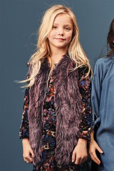 Faux Fur Gilet (3-16yrs)