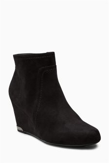 Formal Wedge Boots