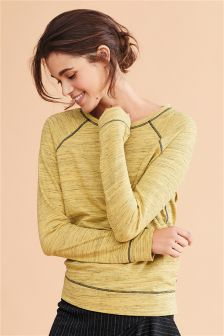 Plain Crew Textured Top