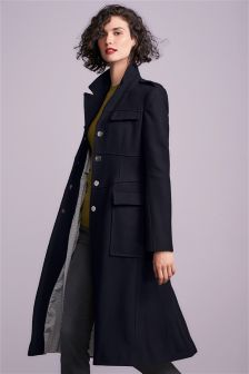 Buy Women's coats and jackets Navy Petite from the Next UK online shop