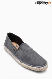 Superdry Washed Canvas Adam Espadrille