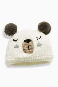 Bear Beanie (Younger Girls)