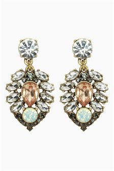Pretty Jewel Drop Earrings