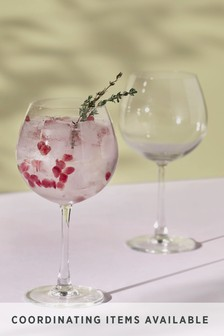 Set Of 2 Gin Glasses