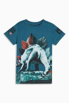 Stegosaurus Print T-Shirt (3-16yrs)