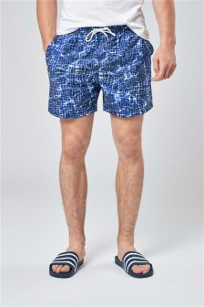 Pool Print Swim Shorts