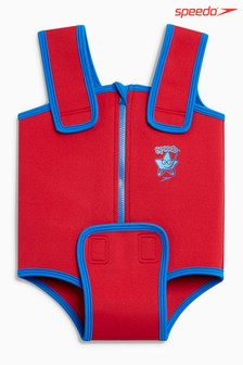 Speedo® Red Neoprene Baby Suit