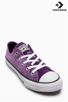 Converse Purple Velvet Ox