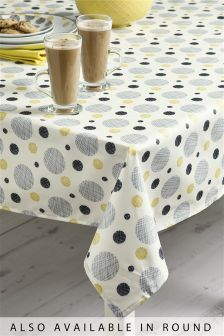 Wipe Clean Pendle PVC Tablecloth