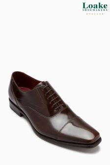 Loake Polished Toe Cap Oxford Shoe