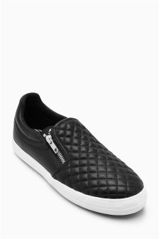 Quilted Skater Shoes (Older Girls)