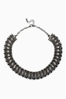 Crystal Effect Short Necklace