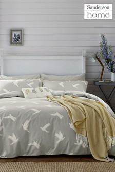 Sanderson Home Paper Doves Duvet Cover