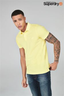 Superdry Washed Pique Polo