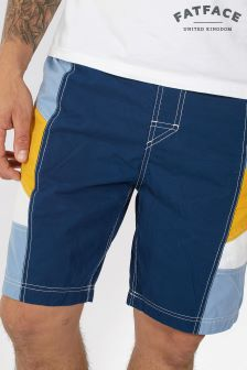 Fat Face Deep Ocean Reef Side Panel Deck Short