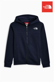 The North Face® Navy Youth Full Zip Drew Peak Hoody