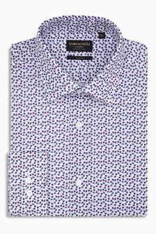 Signature Canclini Floral Printed Slim Fit Shirt