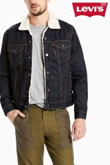 Levi's® Sherpa Trucker Raw Power Jacket