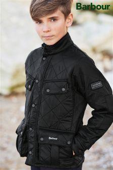 Barbour® Black International Ariel Polarquilt