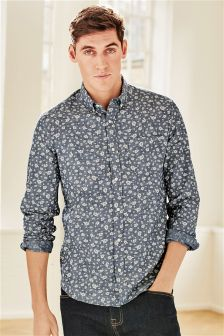 Printed Mens Shirts| Patterned Shirts for Men | Next Official