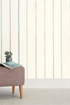 Paste The Wall Stripe Sheen Wallpaper