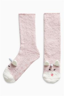 Unicorn Bed Socks