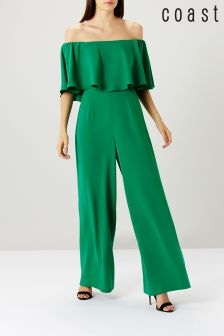 Coast Green Naima Bardot Jumpsuit