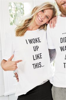 Slogan T-Shirt (Womens)