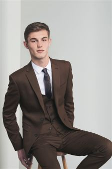 Brown Mens Suits | Brown Suits for Men | Next Official Site