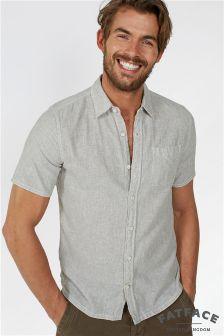 Fat Face Ecru Aldridge Stripe Shirt