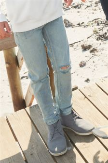 Rip Knee Skinny Jeans (3-16yrs)
