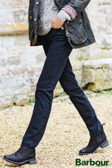 Barbour® Black Essential Slim Trouser