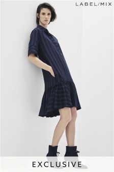 Mix/Teatum Jones Frill Hem Shirt Dress