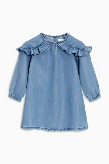Tencel® Ruffle Dress (3mths-6yrs)