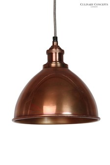 Culinary Concepts Domed Moderne Prohibition Pendant