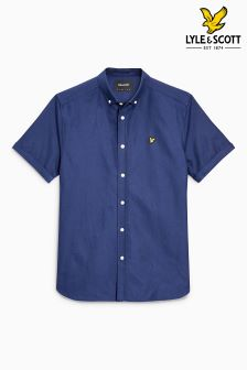 Lyle & Scott Short Sleeve Oxford Shirt
