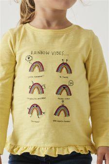 Frill Hem T-Shirt (3mths-6yrs)